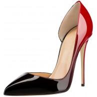 Soireelady Damen Pumps Cut Out Schuhe Stilettos High Heels Spitze Zehe Pumps Schuhe & Handtaschen