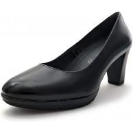 Tamaris Damen Plateaupumps 22438-21 Frauen Plateau-Pumps Plateau-Sohle Plateauschuhe modisch bequem Fashion Blockabsatz 7cm Schuhe & Handtaschen