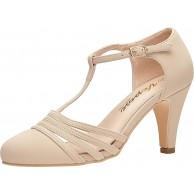VEPOSE Damen formelle Abendkleid Klassische Low Heel Schuhe Kleid Pumpschuhe Schuhe & Handtaschen