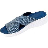 AGGF Cross Orthotic Slide Sandalen lässige Flip Flops rutschfeste Plateau-Hausschuhe Strandkomfort- und Stützsandalen für Frauen Schuhe & Handtaschen