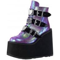 jessboyy Bunte Plattformkeilabsatzmode-Damenschuhe Der Weiblichen PersöNlichkeit Des Neuen Stils Platform Damenschuhe Schuhe & Handtaschen