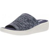 RYKA Nanette Slide Damen Sandale Blau Mittelblau 38.5 EU Schuhe & Handtaschen