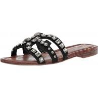 Sam Edelman Damen Bay Slide Sandalen Grau Putty 41 EU Schuhe & Handtaschen