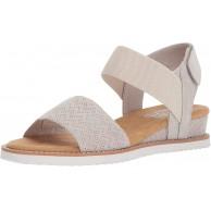 Skechers BOBS From Women's Desert Kiss Sandal Off White 7 M US Schuhe & Handtaschen