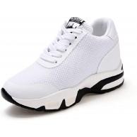 AONEGOLD Damen Sneakers mit Keilabsatz Turnschuh Wedges Sportschuhe Freizeitschuhe Keilabsatz 8cm Schuhe & Handtaschen