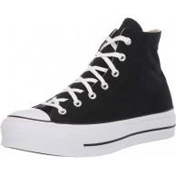 Converse Damen CTAS Lift Hi Black White Sneakers Schuhe & Handtaschen