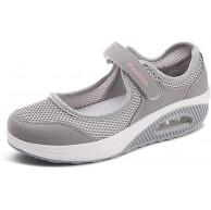 Damen Outdoor Fitnessschuhe Atmungsaktive Mesh Schuhe Sport Slipper mit Klettverschluss Sportschuhe Sneaker Turnschuhe Laufschuhe Pumps Schuhe & Handtaschen