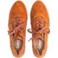 Gabor Damen Sneaker Frauen Low-Top Sneaker Comfort-Mehrweite Reißverschluss Optifit- Wechselfußbett Halbschuhe straßenschuhe rost 40 EU 6.5 UK Schuhe & Handtaschen