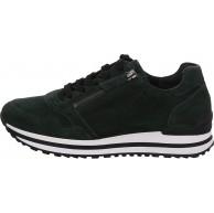 Gabor Damen Sneaker Frauen Low-Top Sneaker Comfort-Mehrweite Reißverschluss Optifit- Wechselfußbett feminin elegant Women's Forest 39 EU 6 UK Schuhe & Handtaschen