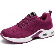 GAXmi Damen Laufschuhe Luftkissen Mesh Air Atmungsaktiv Turnschuhe rutschfest Stoßfest Sportschuhe Schuhe & Handtaschen