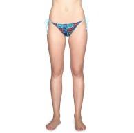 Desigual Damen Biki EVE Bikinihose Blau Turquoise 5070 80 Herstellergröße L Bekleidung