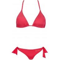 Emporio Armani Swimwear Damen Triangle Rem.Cups & Brazilian W Bows Beachwear Tropical Safari Bikini-Set Bekleidung