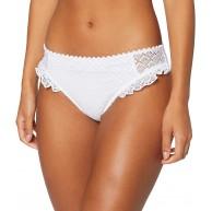 Pour Moi? Damen Castaway Brief Bikinihose Weiß White White 60 Herstellergröße 10 Bekleidung