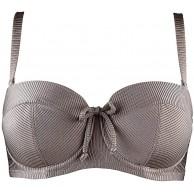 Pour Moi? Damen Coco Beach Strapless Lightly Padded Top Bikini Bekleidung