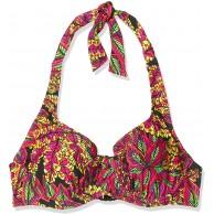 Pour Moi? Damen Heatwave Halter Underwired Top Bikini Bekleidung