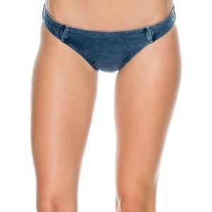 Seafolly Damen Deja Blue Bikini Hose Bekleidung