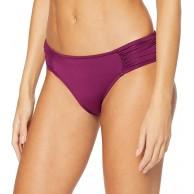 Seafolly Damen Ruched Side Retro Bikinihose Bekleidung