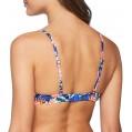 Skiny Damen Aloha Schalen BH Bikinioberteil Mehrfarbig Blue Hawaiian 2000 38 Herstellergröße 75A Bekleidung