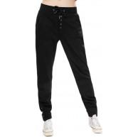 H&E Damen Jogginghose mit Kordelzug und Knöpfen Bekleidung
