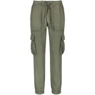 Taifun Damen Cargo-Hose aus Lyocell Lounge Pants TS lässige Passform Bekleidung