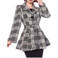Belsira Damen Jacke mit Gürtel Bekleidung