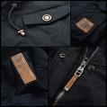 Marikoo Damen Jacke leichte Übergangsjacke Herbst Frühling Baumwolle B689 Bekleidung