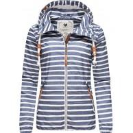 Ragwear Damen Übergangsjacke Regenjacke mit Kapuze Saille XS-XXL Bekleidung