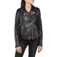 Replay Damen W7579 .000.83254S Jacke Schwarz Black 10 X-Small Herstellergröße XS Bekleidung