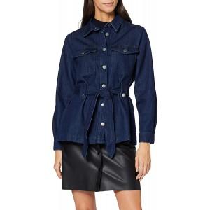 SELECTED FEMME Damen 16070590 Jacke Blau Dark Blue Denim Dark Blue Denim Herstellergröße 38 Bekleidung