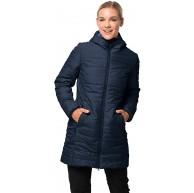 Jack Wolfskin Maryland Coat leichter winddichter und atmungsaktiver Mantel für Damen wasserabweisende Steppjacke für Damen sehr warm wattierter Parka für Damen Bekleidung