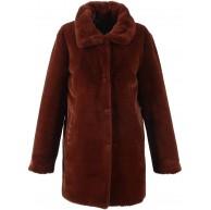 Oakwood Damen Luna Mantel Orange Rust 0552 34 Herstellergröße 36 Bekleidung