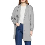 ONLY Damen Mantel onlGINA Ruby Spring Coat Otw Grau Light Grey Melange 38 Herstellergröße M Bekleidung